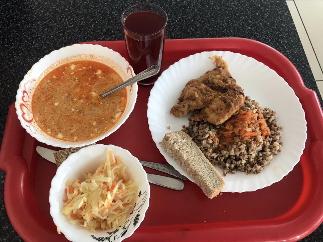 Комплексный обед по доступной цене